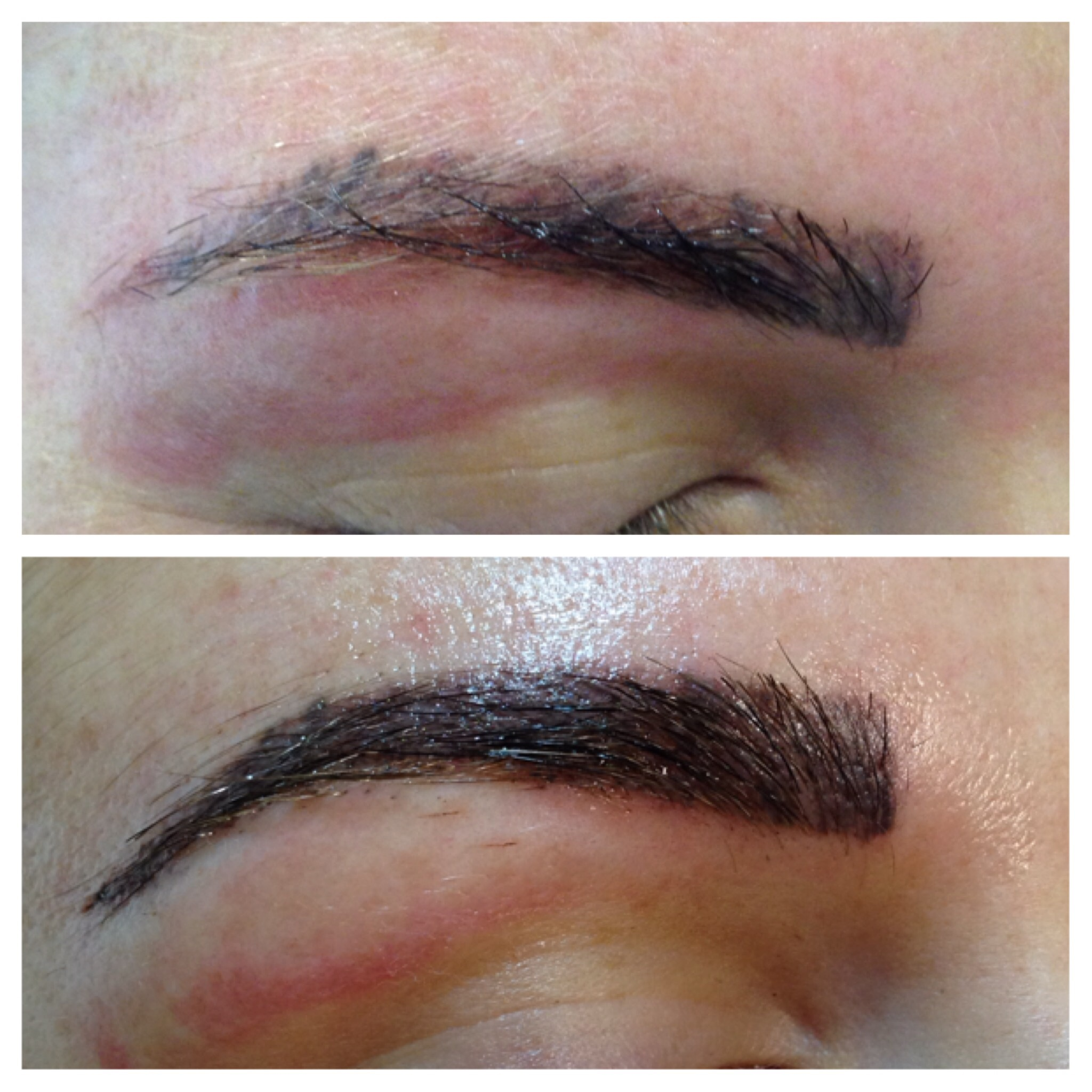 how to get hair dye off skin around eyebrows